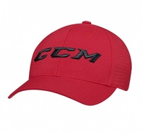 Кепка CCM PERFORATED STR CAP Red
