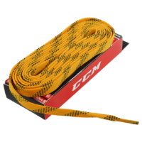 Шнурки CCM Proline Waxed Yellow 274 см