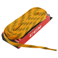 Шнурки CCM Proline Waxed Yellow 244 см