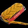 Шнурки для хоккейных коньков CCM Proline Waxed Yellow 304 см