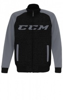 Толстовка-бомбер CCM Track Jacket DGrey/Grey взрослая