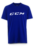 Футболка CCM Training Tee Navy JR детская
