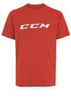 Футболка CCM Training Tee Red SR взрослая