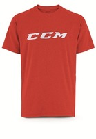 Футболка CCM Training Tee Red JR детская
