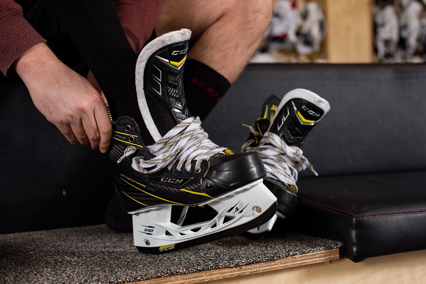 ccm хоккей коньки